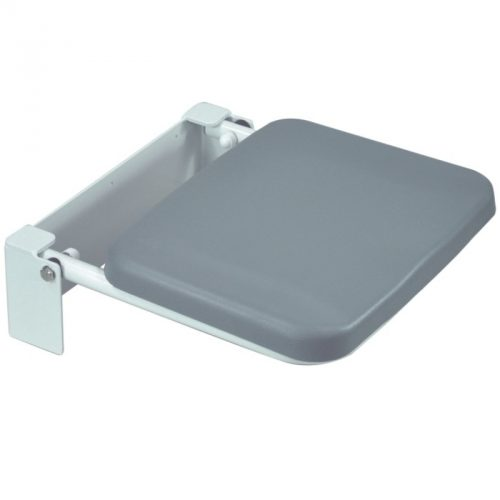 VB542R, Aidapt, Solo Compact Padded Shower Seat, Folding Shower Seat, Shower Seat, Shower Stool, Bathroom Aid, Bathroom Seat, Padded Shower Seat