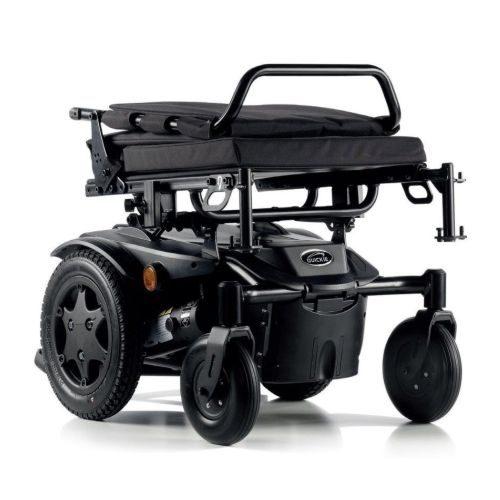Sunrise Quickie Salsa Q100R, Electric Wheelchair, Folded