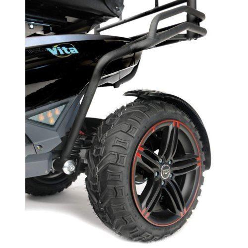 TGA, Vita X, Rear view of wheels and tyres