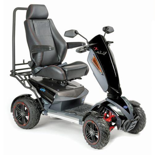 TGA, Vita X, Electric Mobility Scooter, 8MPH, All terrain, 75amps batteries
